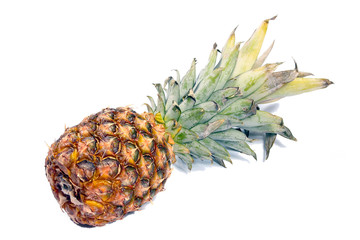 beautiful ripe pineapple tasty tropical fruit as part of a healthy meal