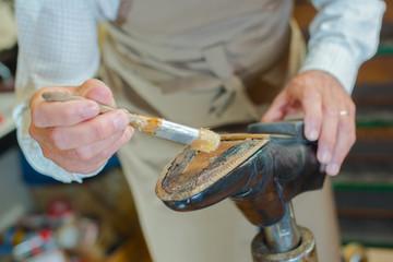 fixing shoe sole