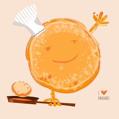 I love Pancakes. Happy Pancake Day!