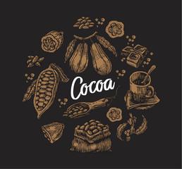 Set of Cocoa Elements