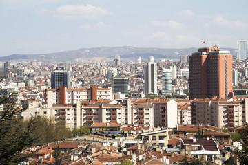 Foto auf Gartenposter Paris city of Ankara, Ankara is the capital city of Turkey, Ankara , it is the second most crowded city of Turkey,