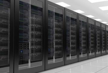 Data center or server room