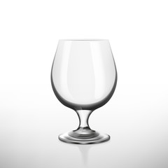 Set of alcohol glasses