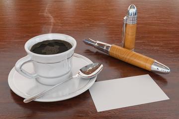 Café e negócios
