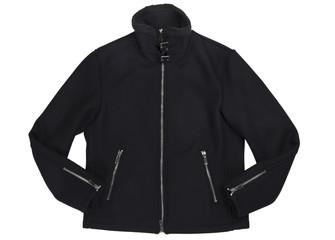 Black jacket.clipping path
