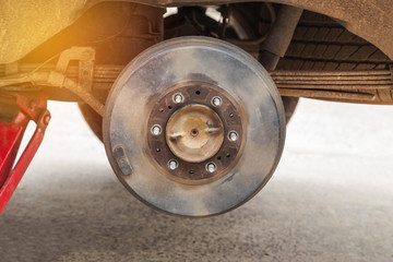car wheel tire replacement car wheel hub changing wheel tyre of car