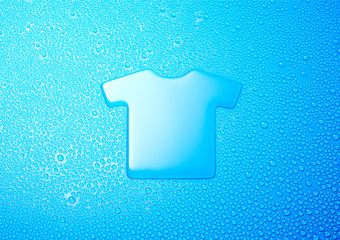 water symbol-T-shirt