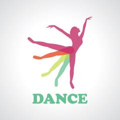 Dance vector logo