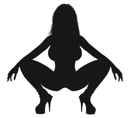 Sexy girl, Female figure
