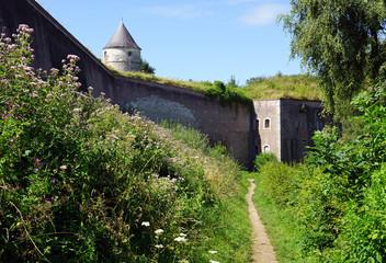 Les remparts Montreuil-sur-Mer