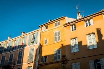 Dans les rue d'Aix en Provence