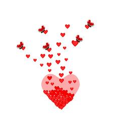 Ladybugs with heart