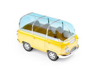 safari van glass roof