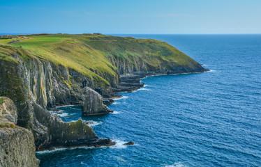 Cliffs at Old Head, County Cork, Ireland