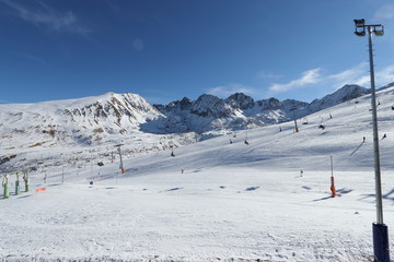 Piste de ski de Grandvalira, Andorre