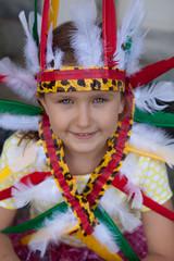 Girl Indian Headdress