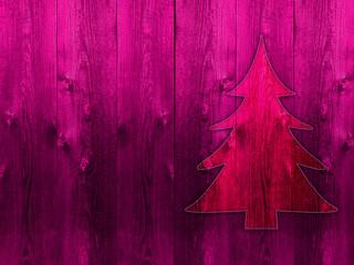 Fototapeta choinka, albero di Natale grunge obraz