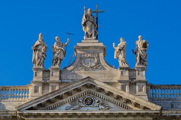 Papal Archbasilica of St. John (San Giovanni in Laterano). Rome.