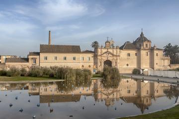 Foto auf Acrylglas Denkmal Real Monasterio de la Cartuja de Sevilla