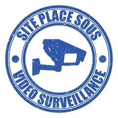 Logo site sous vidéo surveillance.