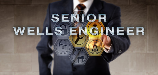 Recruitment Agent Pushing SENIOR WELLS ENGINEER