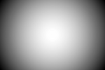 Black and white gradient abstract background