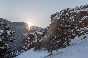 Winter in Boulder