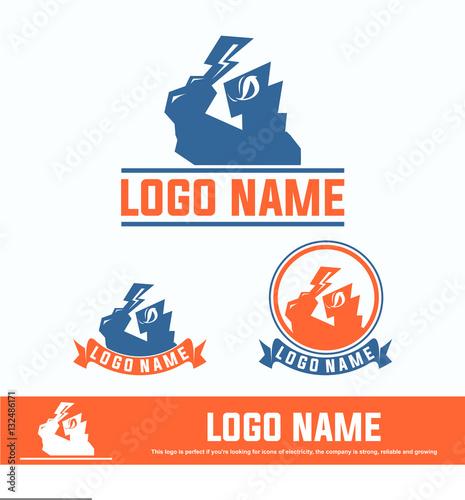 """thunder, baseball logo"" Stock image and royalty-free ..."