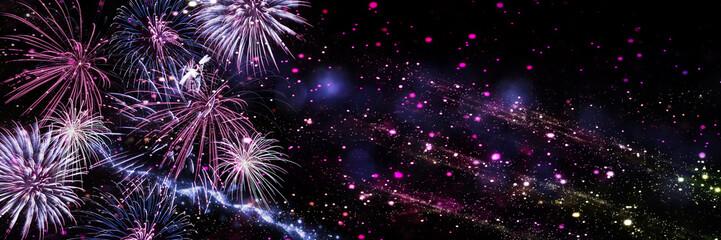 Silvester, Neujahr,  Feuerwerk