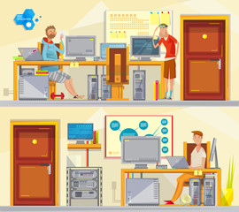 Software Engineering Workplaces Set