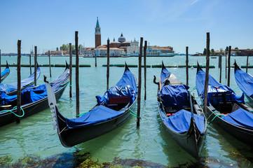 Keuken foto achterwand Gondolas Venice is a city in northeastern Italy and the capital of the Veneto region.