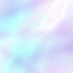 Abstract soft holographic background in pastel light colors