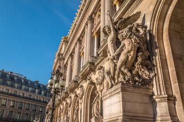 Sculptures in Paris Opera
