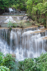 Huay Mae Kamin Waterfall Park