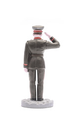 Tin Soldier Vice-sergeant Suvorov Military School 1945 isolated