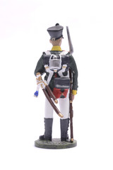 tin soldier squaddie of the Moscow garrison regiment, 1812Isolat