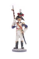 tin soldier Drum-major of the regiment infantry chasseurs of the