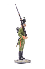 tin soldier Soldier of the 6th Chasseurs, 1805-1808 Isolated on