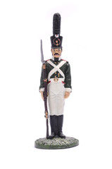 tin soldier Moscow Grenadier Regiment 1805 - 1807 Isolated on wh