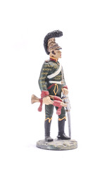tin soldier Trumpeter Shevolezherskogo Regiment in dress uniform