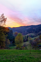 BlackForest Autumn Sunset