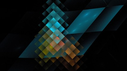 Abstrakter Hintergrund - eisblau