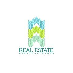 Real Estate Vector Logo Symbol