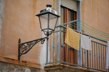 Elements of architecture. Palermo. Sicily, Italy.