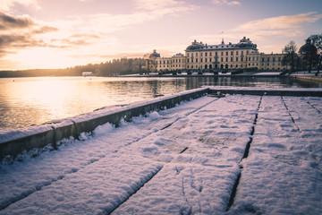 Königspalast - Schloss Drottningholm, Stockholm