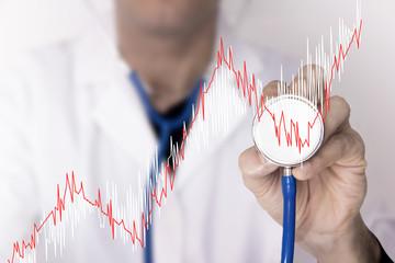 medico, dottore, controllo, stetoscopio