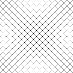 Seamless fishnet pattern. Seamfree vector chain link background wallpaper.