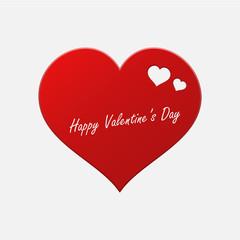 Valentine day vector illustration Postcard