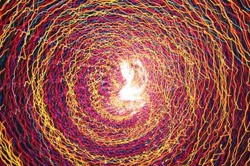 Spinning under the Lights