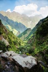 Caucasian mountains. Georgia. Svaneti.